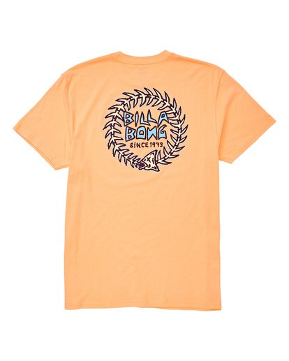 1 Fishtail Tee Orange M404UBFT Billabong