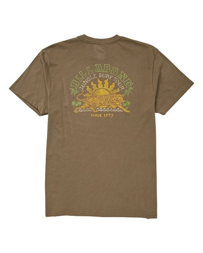 1 Jungle Tour T-Shirt Green M404UBJT Billabong