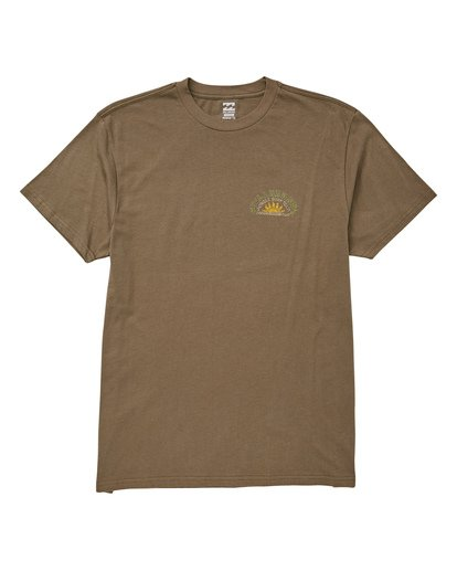 0 Jungle Tour T-Shirt Green M404UBJT Billabong