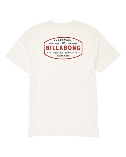 1 Mcm T-Shirt Brown M404UBMC Billabong