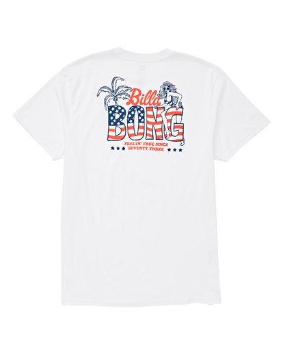 1 Oohlala T-Shirt White M404UBOO Billabong