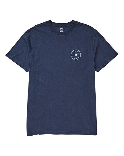 0 Rotor T-Shirt Blue M404UBRO Billabong