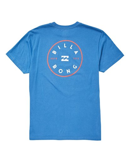 1 Rotor T-Shirt Blue M404UBRO Billabong