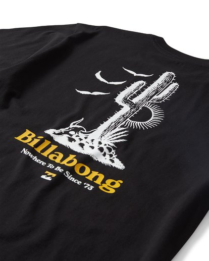 3 High Desert Short Sleeve T-Shirt Black M404UHDR Billabong