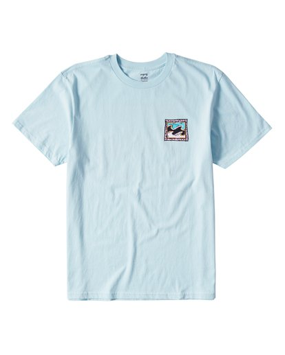 0 High Tide Short Sleeve Tee Blue M404UHTR Billabong