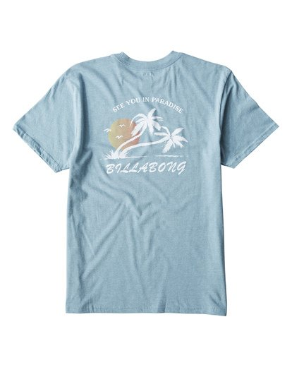 1 In Paradise T-Shirt Blue M404UIPE Billabong