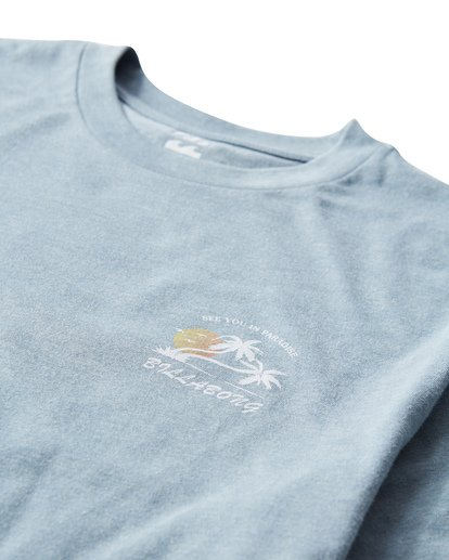 2 In Paradise T-Shirt Blue M404UIPE Billabong