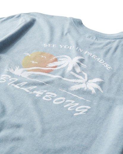 3 In Paradise T-Shirt Blue M404UIPE Billabong