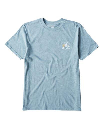 0 In Paradise T-Shirt Blue M404UIPE Billabong