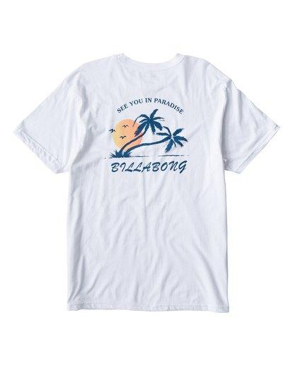 1 In Paradise T-Shirt White M404UIPE Billabong
