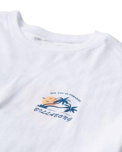 2 In Paradise T-Shirt White M404UIPE Billabong