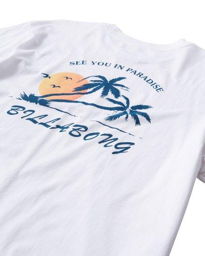 3 In Paradise T-Shirt White M404UIPE Billabong