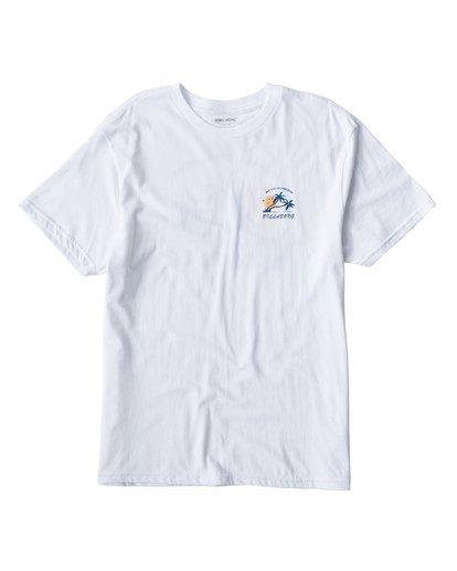 0 In Paradise T-Shirt White M404UIPE Billabong