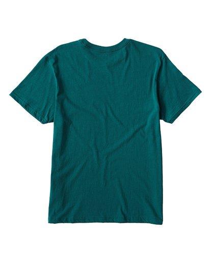 1 Key T-Shirt Green M404UKEE Billabong