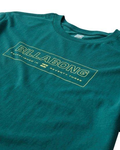 2 Key T-Shirt Green M404UKEE Billabong