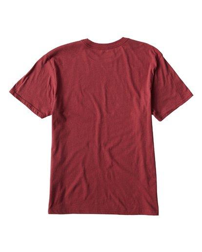 1 Key T-Shirt Red M404UKEE Billabong