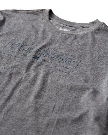 2 Key T-Shirt Grey M404UKEE Billabong