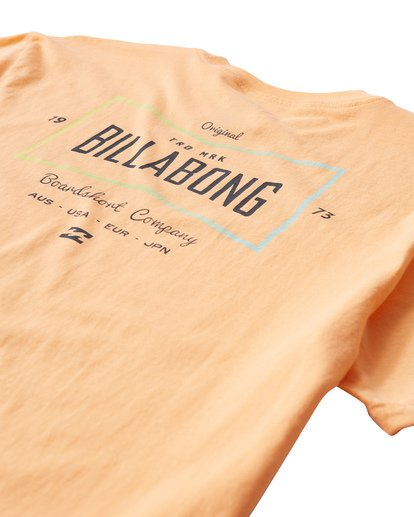 3 Original T-Shirt Orange M404UORE Billabong