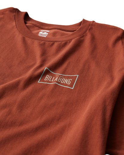 2 Original T-Shirt Red M404UORE Billabong
