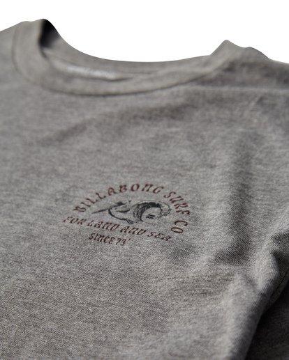 2 Peliwave T-Shirt Grey M404UPEE Billabong