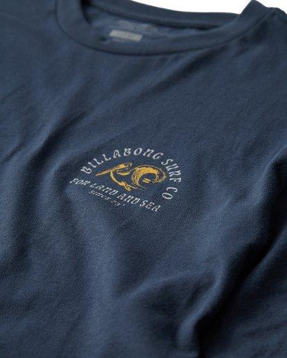 2 Peliwave T-Shirt Blue M404UPEE Billabong