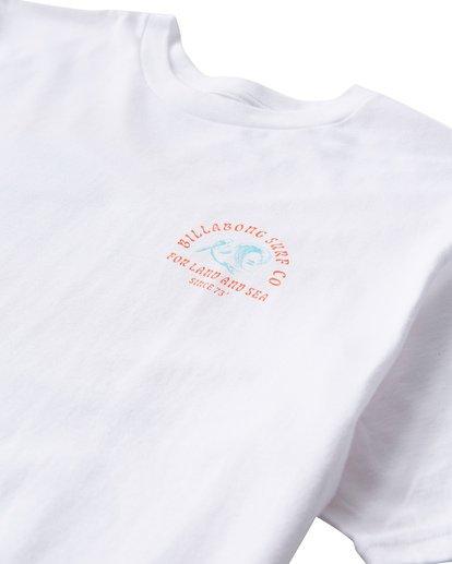 2 Peliwave T-Shirt White M404UPEE Billabong