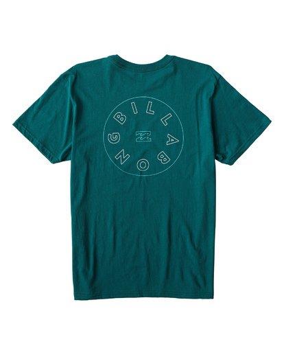 1 Roto T-Shirt Green M404UROE Billabong