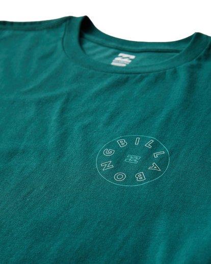 2 Roto T-Shirt Green M404UROE Billabong