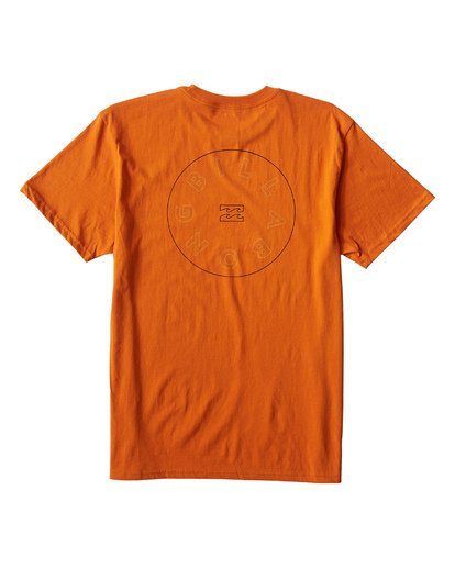 1 Roto T-Shirt Orange M404UROE Billabong
