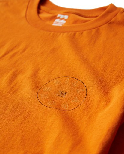 2 Roto T-Shirt Orange M404UROE Billabong