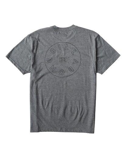 1 Roto T-Shirt Grey M404UROE Billabong
