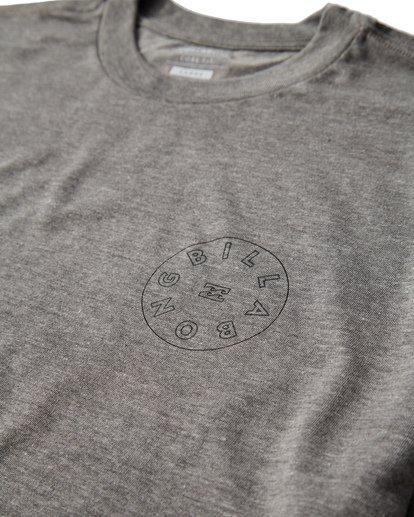 2 Roto T-Shirt Grey M404UROE Billabong