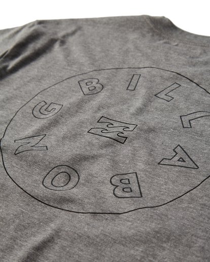 3 Roto T-Shirt Grey M404UROE Billabong