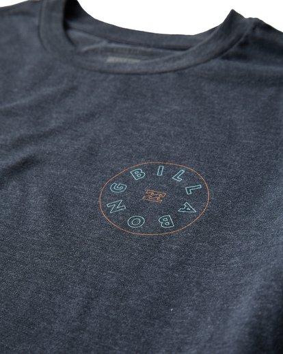 2 Roto T-Shirt Blue M404UROE Billabong