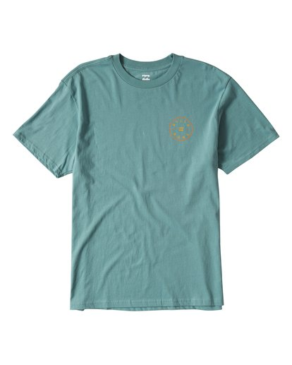 0 Rotor Short Sleeve T-Shirt Grey M404URTR Billabong