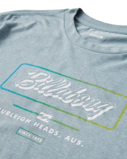 2 Script T-Shirt Blue M404USCE Billabong