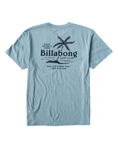 1 Surf Club T-Shirt Blue M404USUE Billabong