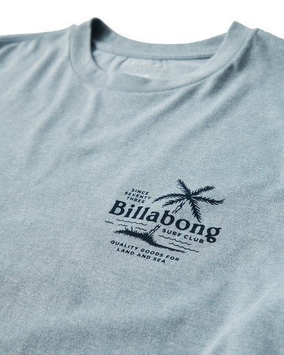 2 Surf Club T-Shirt Blue M404USUE Billabong