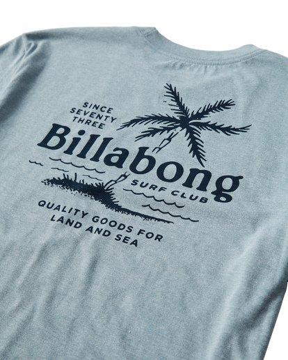 3 Surf Club T-Shirt Blue M404USUE Billabong