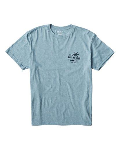 0 Surf Club T-Shirt Blue M404USUE Billabong