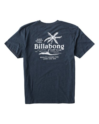 1 Surf Club T-Shirt Blue M404USUE Billabong
