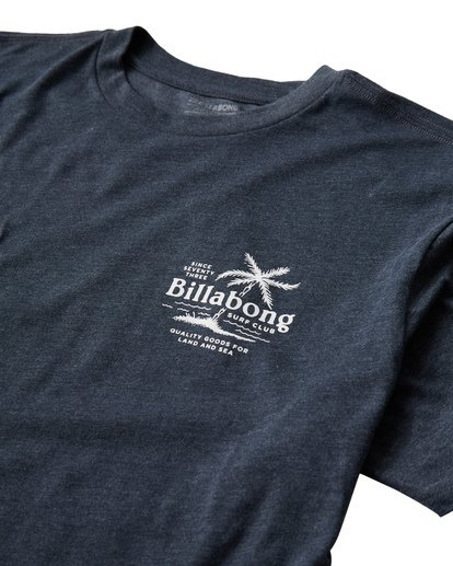 2 Surf Club T-Shirt Blue M404USUE Billabong