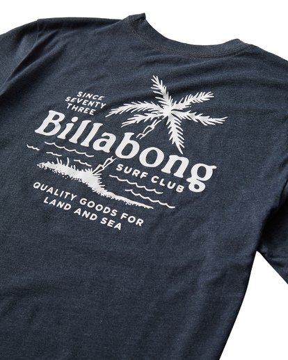 3 Surf Club T-Shirt Blue M404USUE Billabong