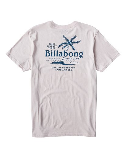 1 Surf Club T-Shirt Purple M404USUE Billabong