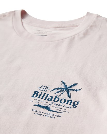 2 Surf Club T-Shirt Purple M404USUE Billabong