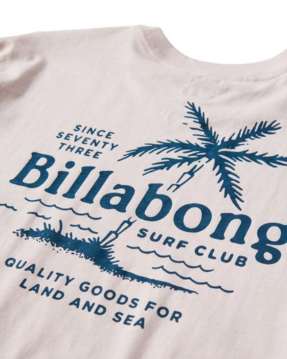 3 Surf Club T-Shirt Purple M404USUE Billabong