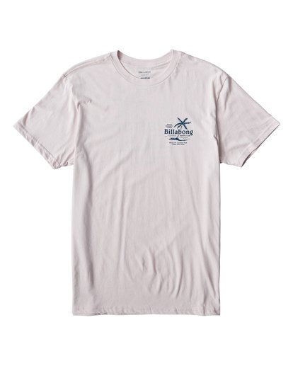 0 Surf Club T-Shirt Purple M404USUE Billabong
