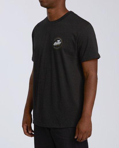 1 Aloha Badge Short Sleeve T-Shirt Black M404VBAA Billabong