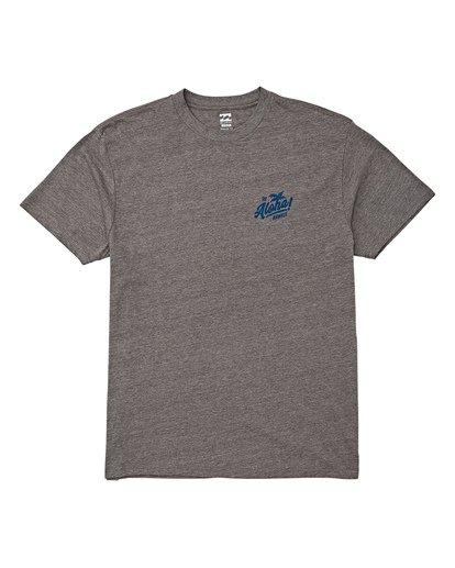 3 Aloha T-Shirt Grey M404VBAL Billabong