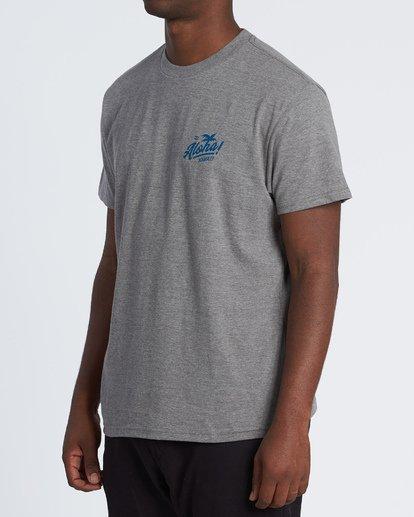1 Aloha T-Shirt Grey M404VBAL Billabong